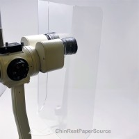 Zombie Curved Shield. Slit Lamp Breath Shield, Universal, Extra Large, Thick Acrylic
