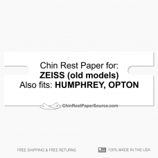 CRPS HUMPHREY-ZEISS chin rest paper