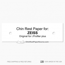 Chin rest paper for ZEISS i.Profiler plus