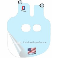 Breath Shield for Automated Phoropter Reichert, Large, Magnetic
